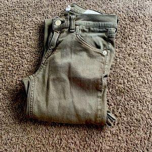 RAG & BONE skinny jeans size 25